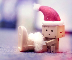 christmas, danbo, and winter image