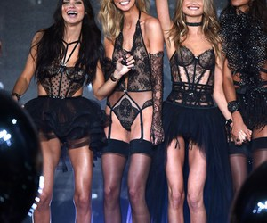 Adriana Lima, Behati Prinsloo, and victoria secret image
