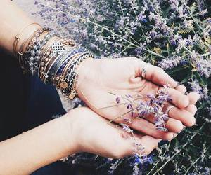 bracelet, flowers, and cute image