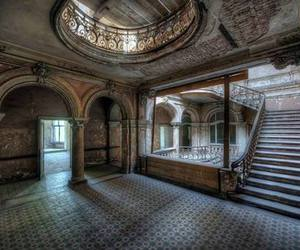 abandoned, house, and mansion image