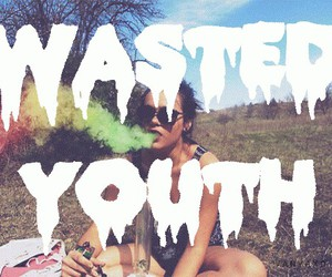 youth, grunge, and wasted image