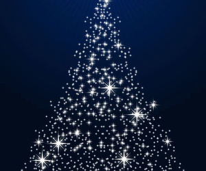 christmas tree, background, and sparkle image