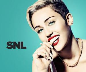 blue, miley, and smile image