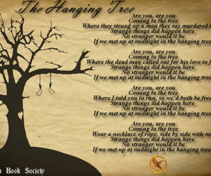 the hunger games, hanging tree, and are you image