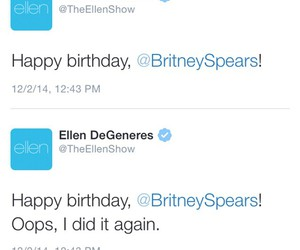 funny, britney spears, and ellen image