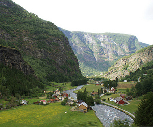railroad, norway, and railway image