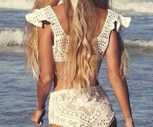 beach, hippie, and indie image