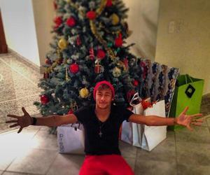 neymar, neymar jr, and christmas image