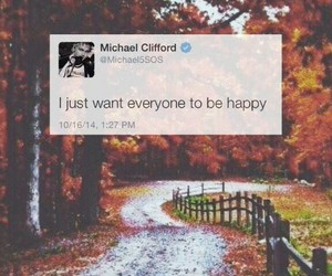 twitter, 5sos, and michael clifford image