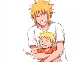naruto, minato, and father image