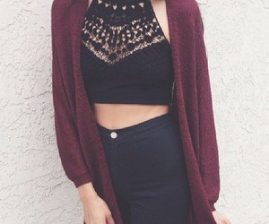 fashion, outwear, and outfit image
