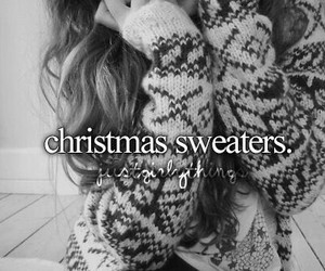 sweater, christmas, and winter image