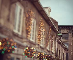light, building, and christmas image