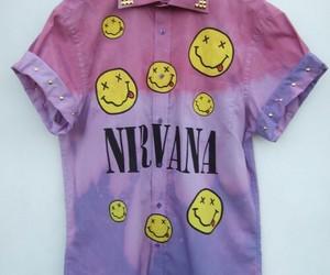 nirvana, grunge, and shirt image