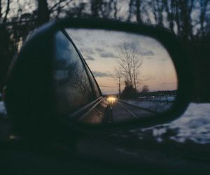 car, mirror, and nature image