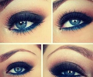 eyes, make up, and like image