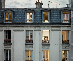 house, building, and paris image