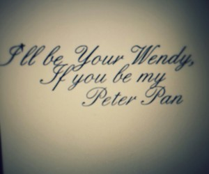 peter pan, wendy, and will image