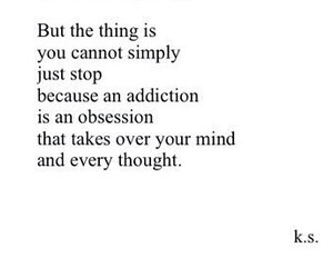 addiction, mind, and obsession image