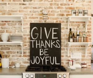 quote, kitchen, and thanks image