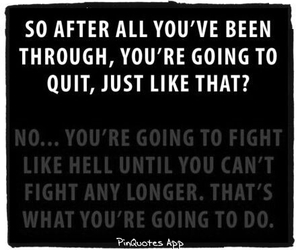 fight, motivation, and text image