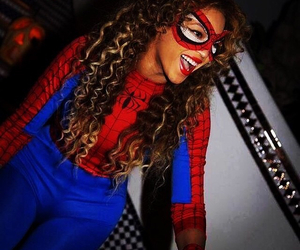 beyoncé, spiderman, and queen b image