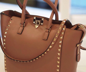 bag, brown, and Valentino image
