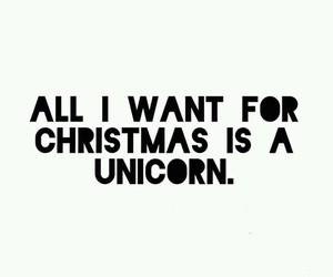unicorn, christmas, and want image