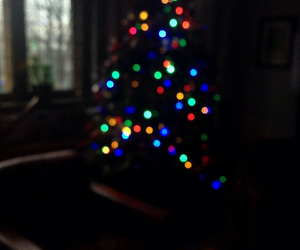 christmas, iphone, and tree image