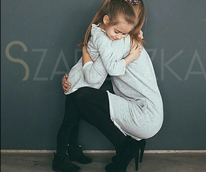 girl, mom, and cute image