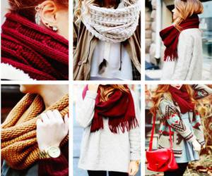 cold, scarfs, and girl image