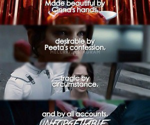 the hunger games, katniss, and unforgetable image