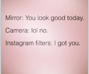 camera, mirror, and instagram image