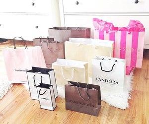 chanel, pandora, and shopping image