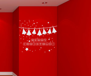 christmas, home decor, and murals image
