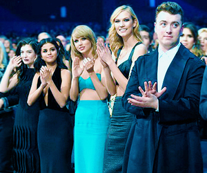 selena gomez, Taylor Swift, and sam smith image