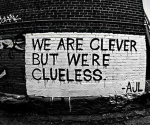 clever, Clueless, and quote image