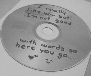cd, crush, and feelings image