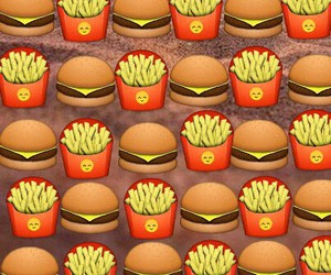 food, emoji, and delicious image