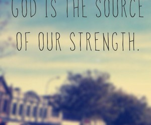 god and source of strength image