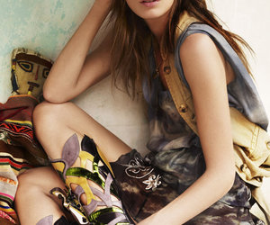 Daria Werbowy, fashion, and vogue uk image