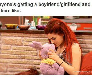 alone, boyfriend, and bunny image