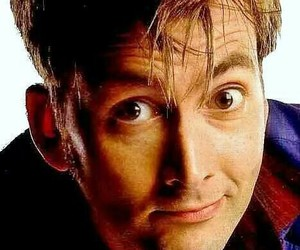 david tennant, eyes, and doctor who image