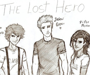 leo valdez, jason grace, and the lost hero image