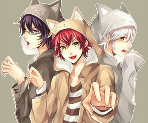 diabolik lovers, anime, and neko image