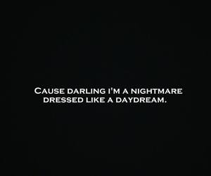quotes, song, and song quotes nightmare image