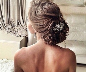 beauty, hair style, and fashion image