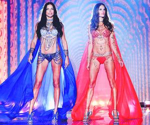 alessandra ambrosio, model, and Adriana Lima image