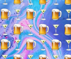 beer and wallpaper image