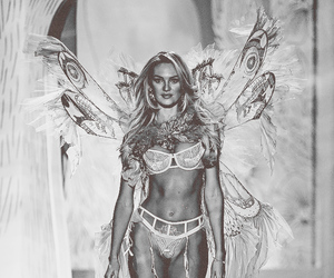 candice swanepoel, angel, and Victoria's Secret image